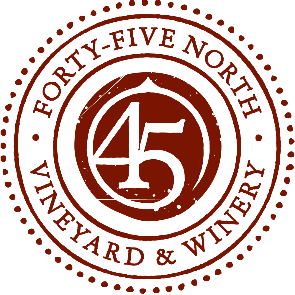 45 North Vineyard and Winery Logo
